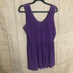 Matilda Jane Purple Tank Top L Shirt Womens Mom